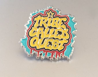 """A Tribe Called Quest Soft Enamel Lapel Pin 1"""""""