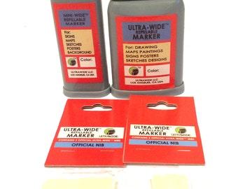 Ultra WIde & Mini Wide Markers