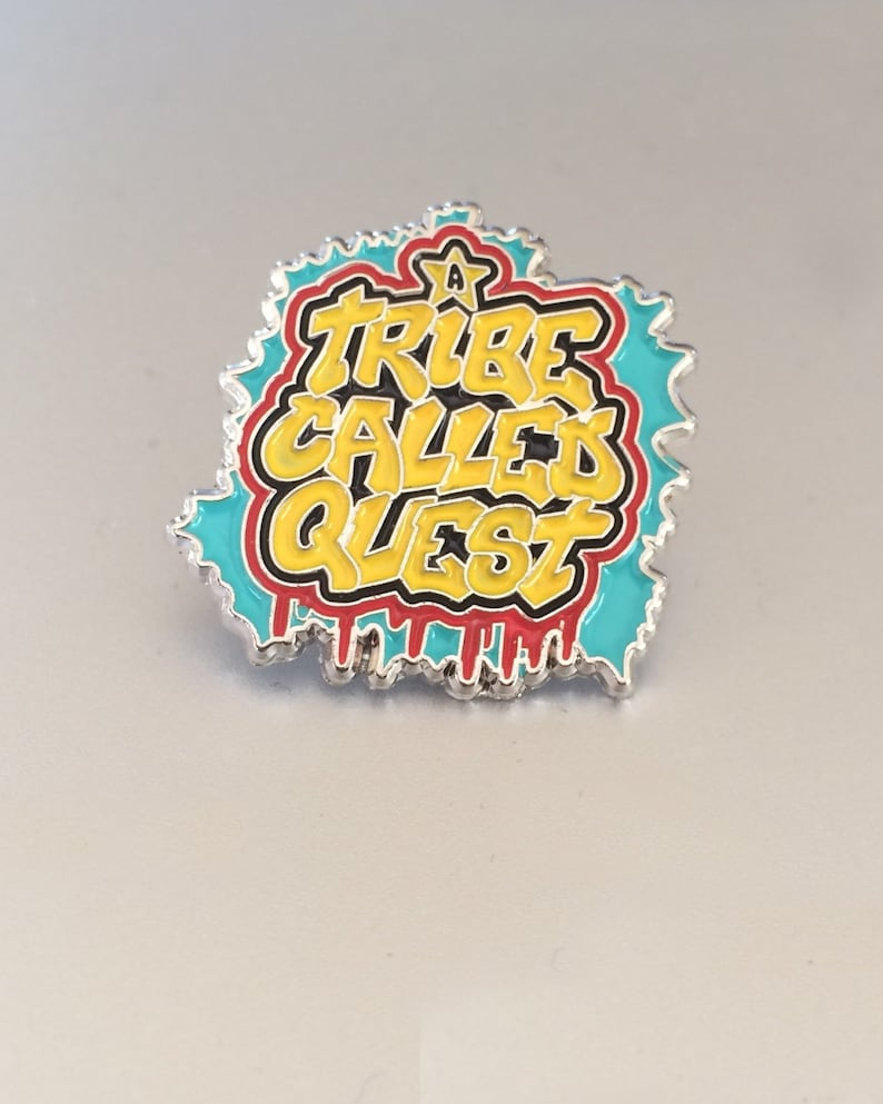 A Tribe Called Quest Soft Enamel Lapel Pin 1 image 0