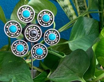 Roller Skate Plant Stakes | Wheel Bearing Flower Plant Sticks | Skater House Plant Lover Gift | Flower Pot Decor | Indoor Garden Marker