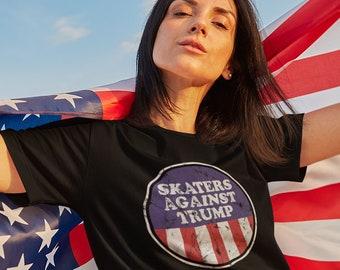 Roller Skate Shirt | Roller Derby Tshirt | Anti Trump Tee