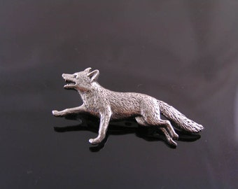 Fox Brooch, Fox Pin, Brooch Pin, Woodland Brooch, Woodland Jewelry, Australian Sellers, Fox Jewelry, Gift Idea, Fox Gift, P148