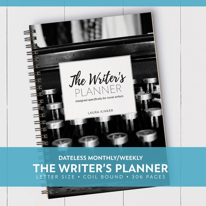 UPDATED The Writer's Planner / Letter / Coil Bound / image 0