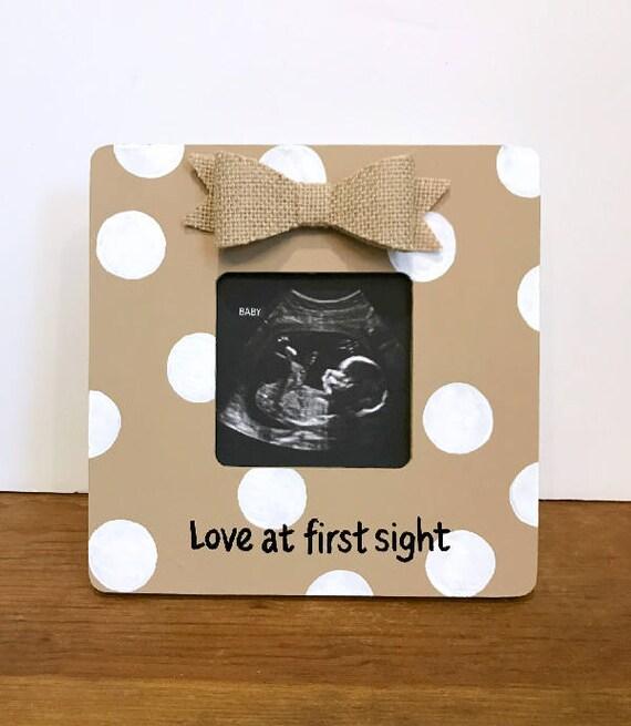 Imagen ultrasonido marco bebé anuncio anuncio marco embarazo amor a ...
