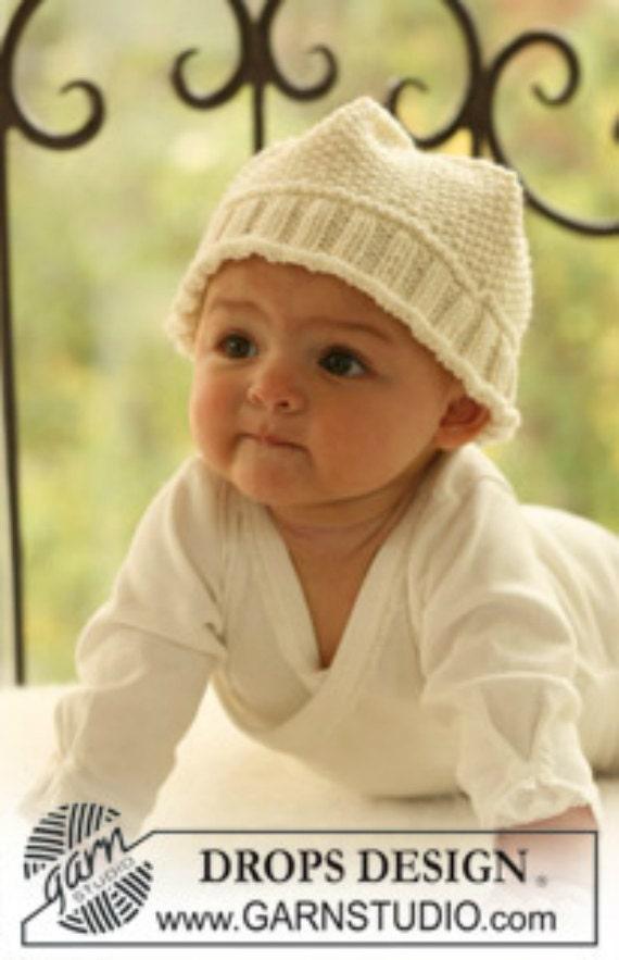 Sombrero hecho punto del bebé gorro de bebé Unisex. Hecho a | Etsy