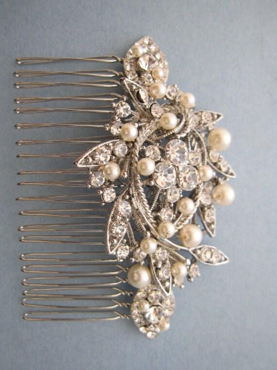 Nouveau Argent or Robe de Mariage Cheveux Peigne Épingle à Cheveux Clip Barrette Pince à cheveux