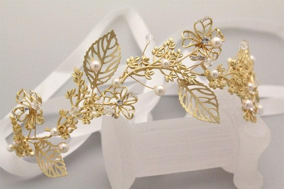 Accessoires de cheveux de mariée or Bridal peigne postiche strass bandeau bandeau de mariée bohème cristal cheveux vigne mariage cheveux bijoux