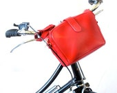 Bicycle HandleBar Bag - Upcycled