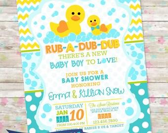 Duck Baby Shower Etsy