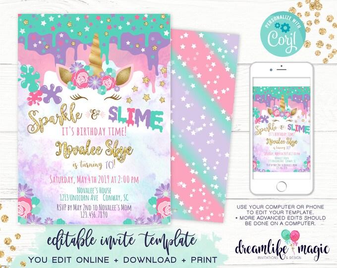 Editable Invitations