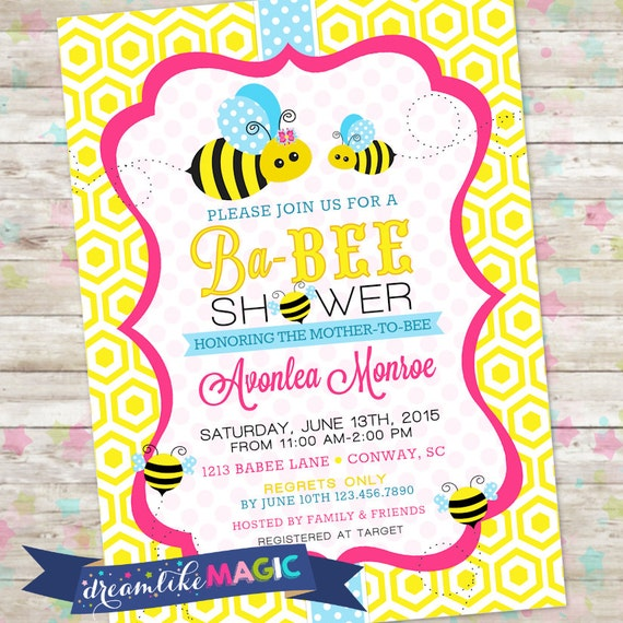 Mommy to bee invitation baby shower bee baby shower invite etsy image 0 filmwisefo