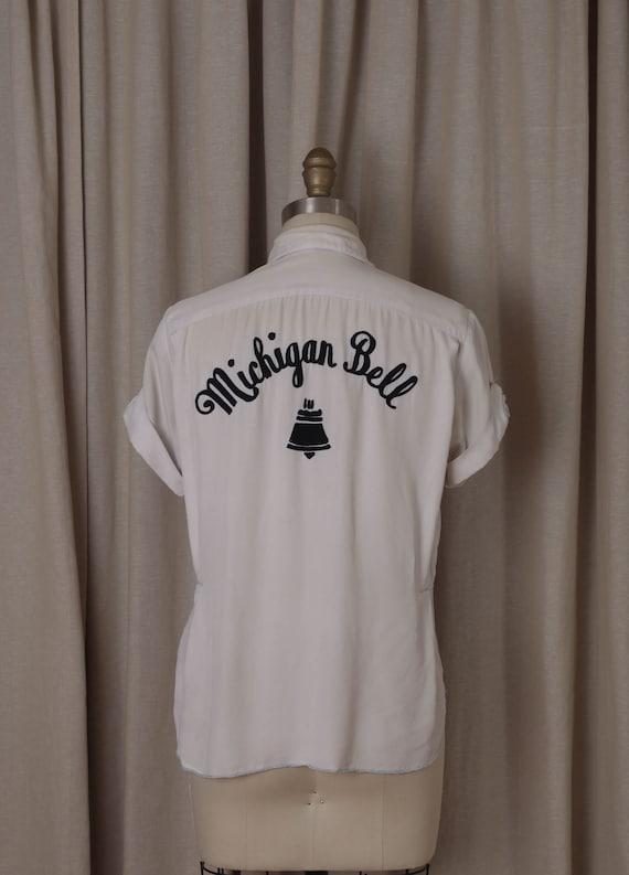 1950's Women's Bowling Shirt