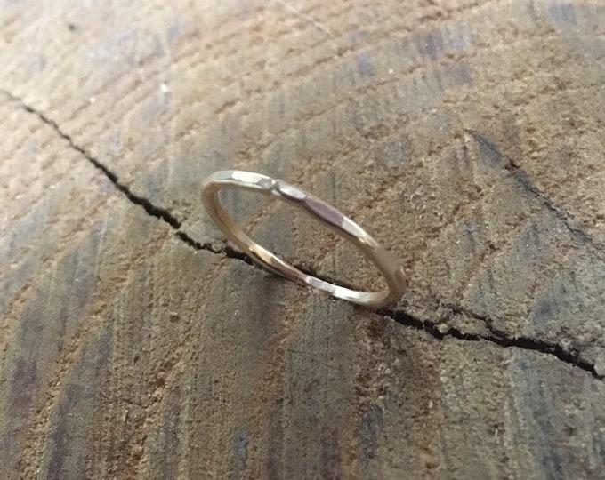 14K gold-filled Stacking Ring