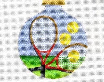 Tennis Needlepoint Ornament - Jody Designs  B124