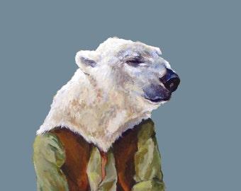 Little Polar Bear- print