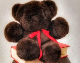 Rex Rabbit Fur made in USA Teddy Bear