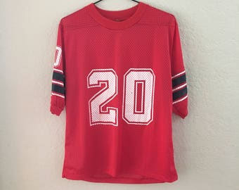 Vintage 1980s Red Jersey