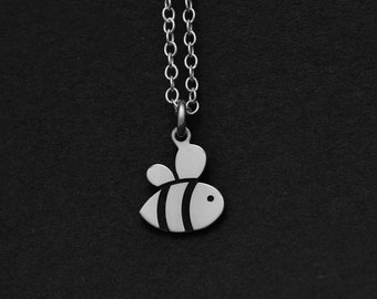 Silver or Gold Bee Necklace