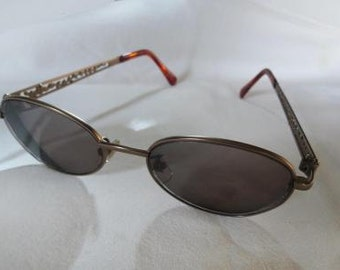 27c244e6adb7b Kenzo Oval Metal Pierced Arms Eye Glass FRAMES Only