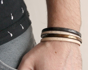 Bracelet en Cuir pour Hommes -  May the force be with you