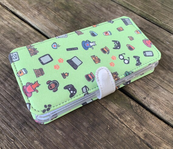 LG phone wallet case LG K8 2018 phone case Lg Stylo 3 case Lg Zone 4 case LG stylo 5 wallet case gamer nerd cats and coffee