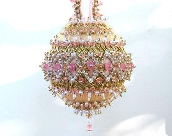 Beaded Christmas Ornament Kit - Elizabeth