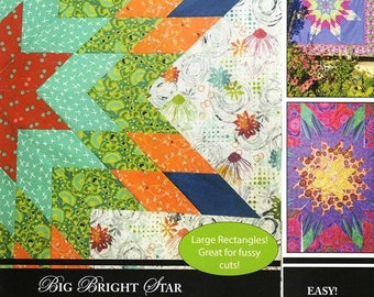 Pattern /& Printed Interfacing ~ CLASSIC PACK HAWAIIAN GARDEN ~ by Quiltsmart