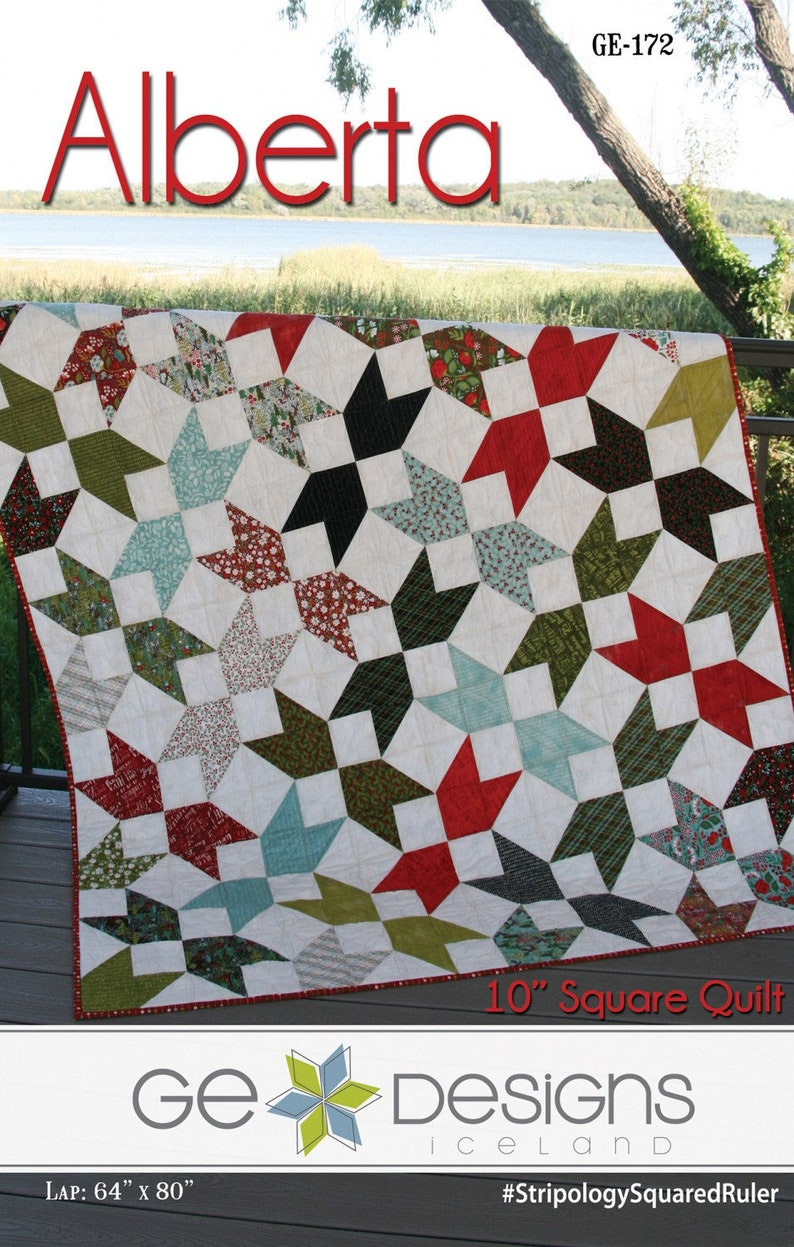 Kira Quilt Pattern by GE Designs