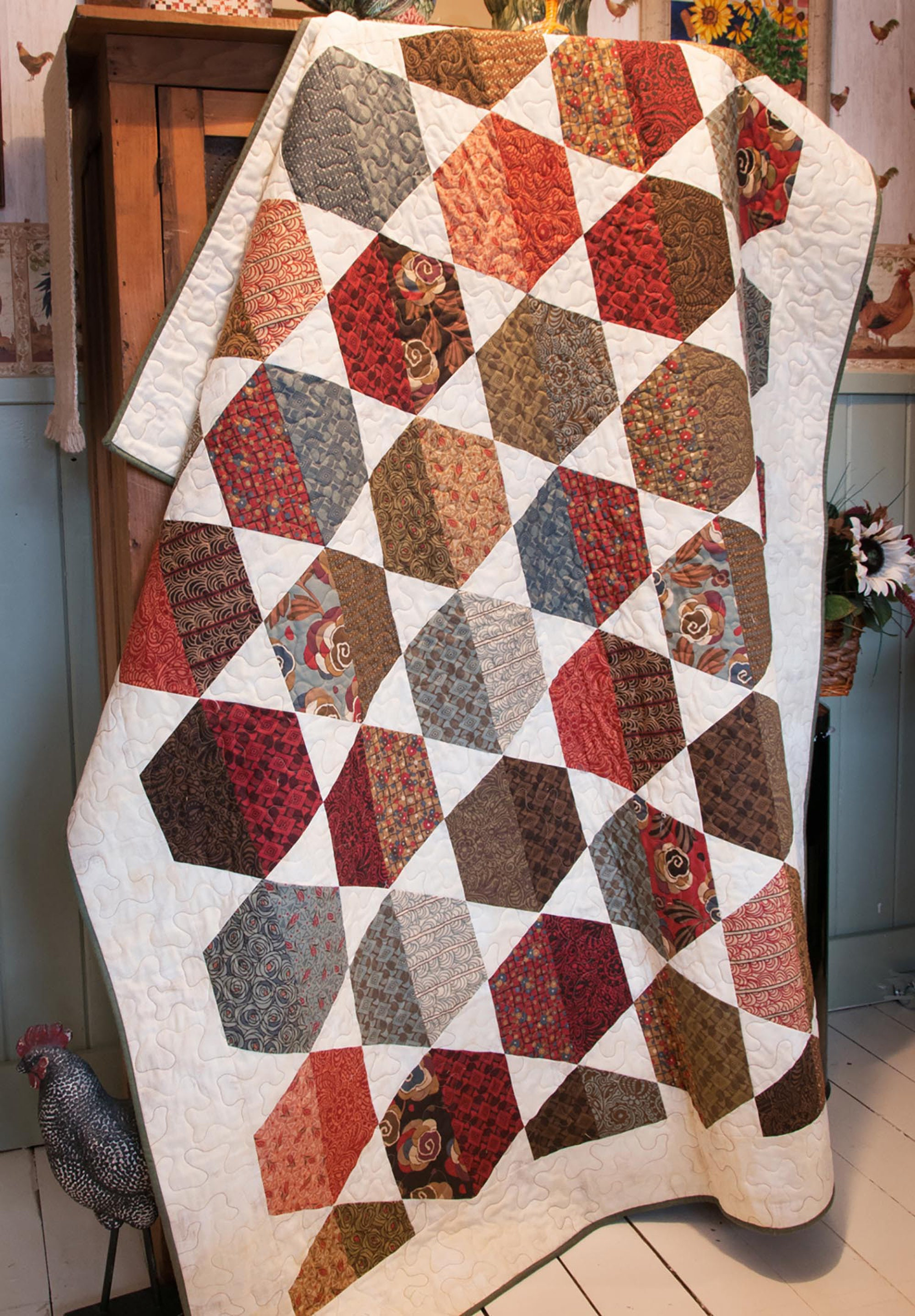 Sonoma Quilt Pattern by Cut Loose Press