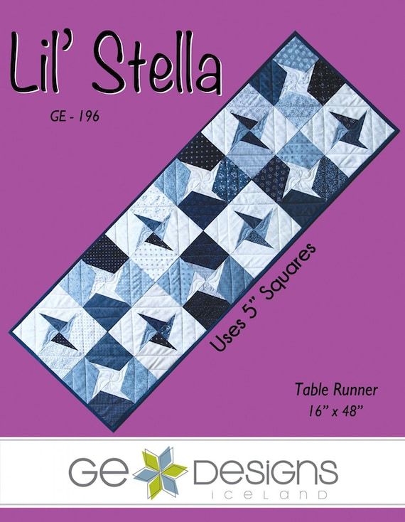 Belle Amie Quilted Table Runner Pattern