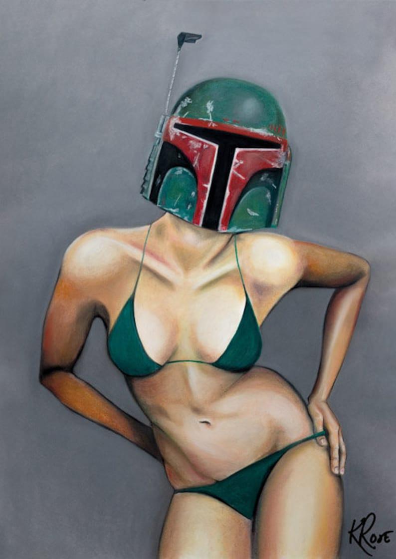 Naked Boba Fett Cosplayer