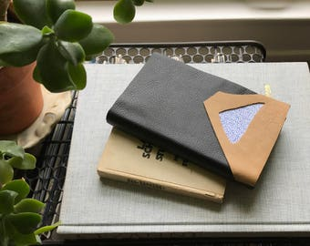 Leather Forms I // Modern Blank Book
