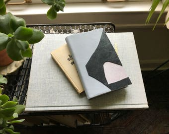 Leather Forms VI // Modern Blank Book