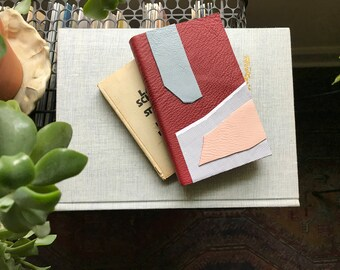 Leather Forms II // Modern Blank Book