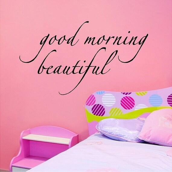Guten Morgen Schöne Schriftzug Sprüche Worte Zitate Wandtattoo