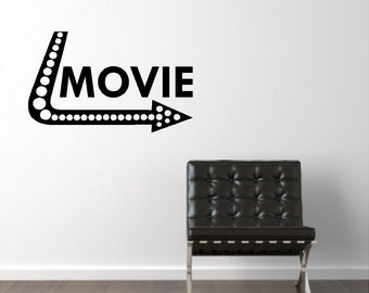 Movie Wall Quotes Words Sayings Removable Movie Wall Decal Lettering