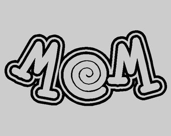 Mom Wall Lettering Words Sayings Removable Mom Wall Decal Quotes FA041