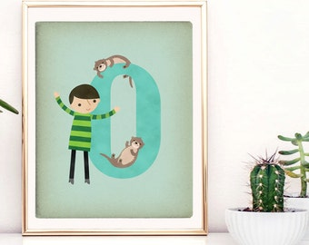 Alphabet Animal Prints