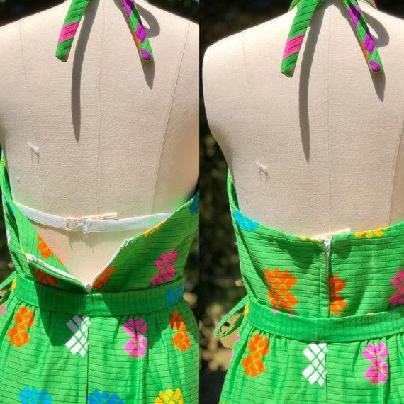 MALIA Honolulu Hawaiian / Vintage 60s Dress / 196… - image 5