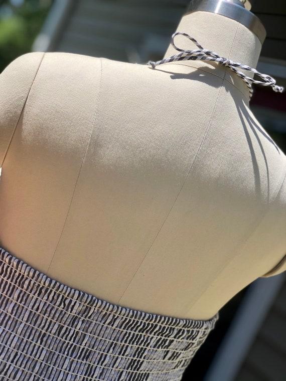 80s dress / Vintage John Anthony Dress / Cotton S… - image 5