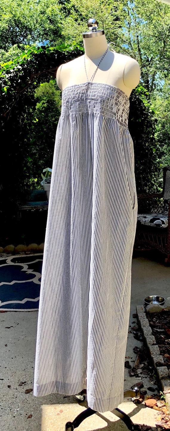 80s dress / Vintage John Anthony Dress / Cotton S… - image 4