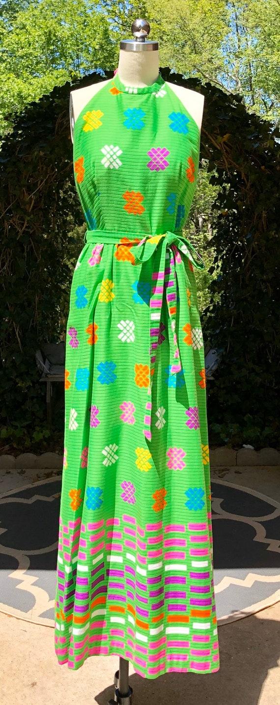 MALIA Honolulu Hawaiian / Vintage 60s Dress / 196… - image 6