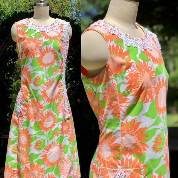 Lilly Pulitzer The Lilly / 60s dress / vintage 196