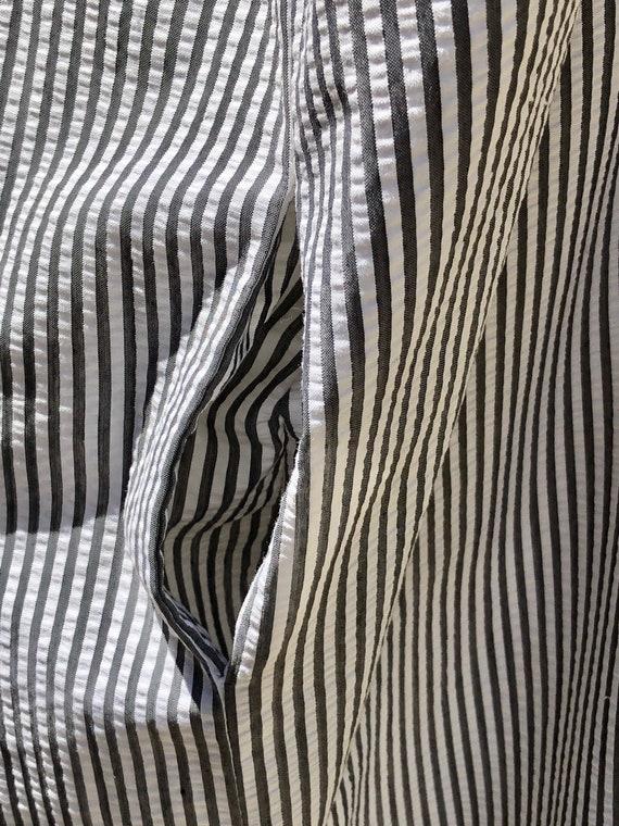 80s dress / Vintage John Anthony Dress / Cotton S… - image 8