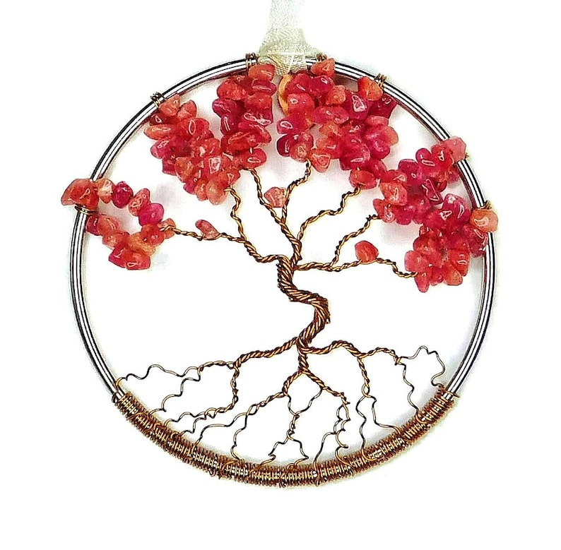 July Birthstone Tree Of Life Home Decoration 3 Inch image 0