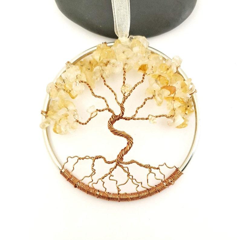 November Birthstone Tree Of Life Home Decoration 3 Inch image 0