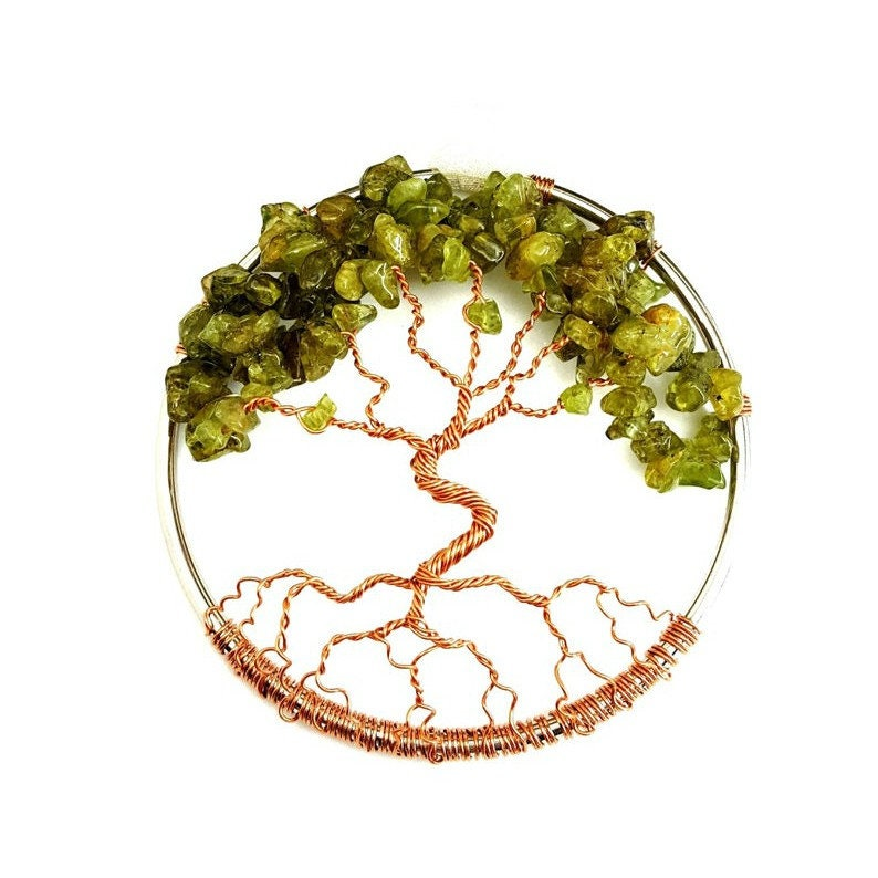 August Birthstone Tree Of Life Home Decoration 3 Inch image 0