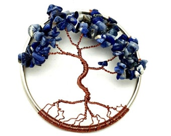 September Birthstone Dancing Tree of Life, Home Decoration, 3inch Ornament