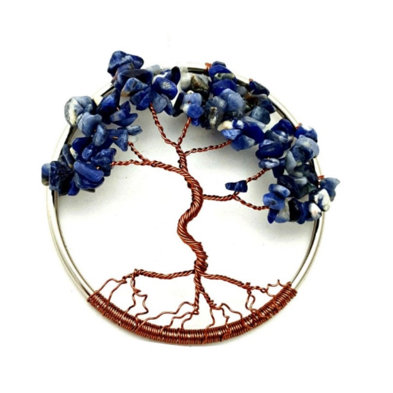 September Birthstone Tree Of Life Home Decoration 3inch image 0