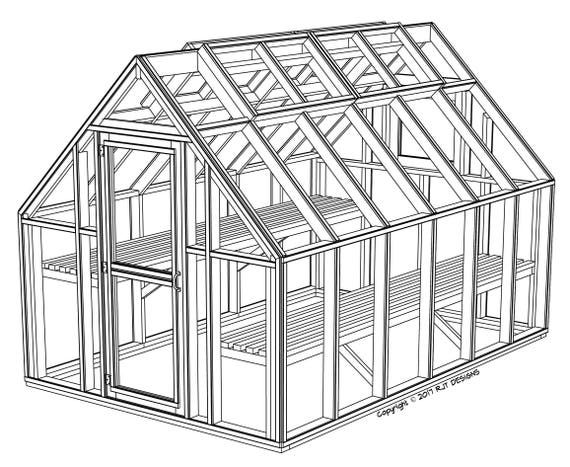 8' x 12' Greenhouse Plans PDF Version | Etsy Greenhouse Plans Design Free Printable on pinterest greenhouse plans, personal greenhouse plans, vintage greenhouse plans, free diy greenhouse plans, homemade greenhouse plans, winter greenhouse plans, home greenhouse plans,